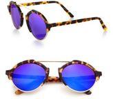 Illesteva Milan III 54MM Round Sunglasses