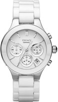 DKNY NY4912 Chambers stainless steel and ceramic watch