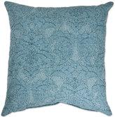 Sherry Kline Dierdre Denim 20-Inch Square Throw Pillow