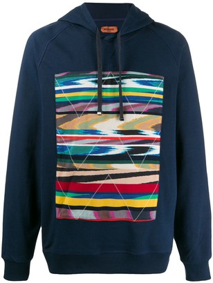 Missoni Graphic Print Fitted Hoodie