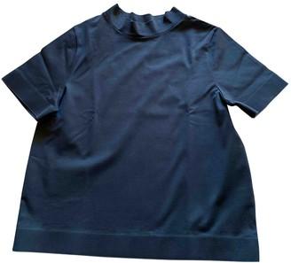 Cos Black Cotton Top for Women