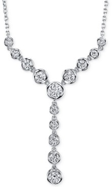 Sirena Diamond Lariat Necklace (1 ct. t.w) in 14k Gold or White Gold