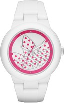 adidas Arberdeen Watch in White & Pink
