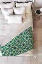 Deny Designs Vy La Island Diamond Faux Shearling Fleece Blanket - 60 x 50
