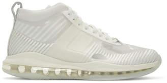 Nike White John Elliott Edition LeBron Icon QS Sneakers