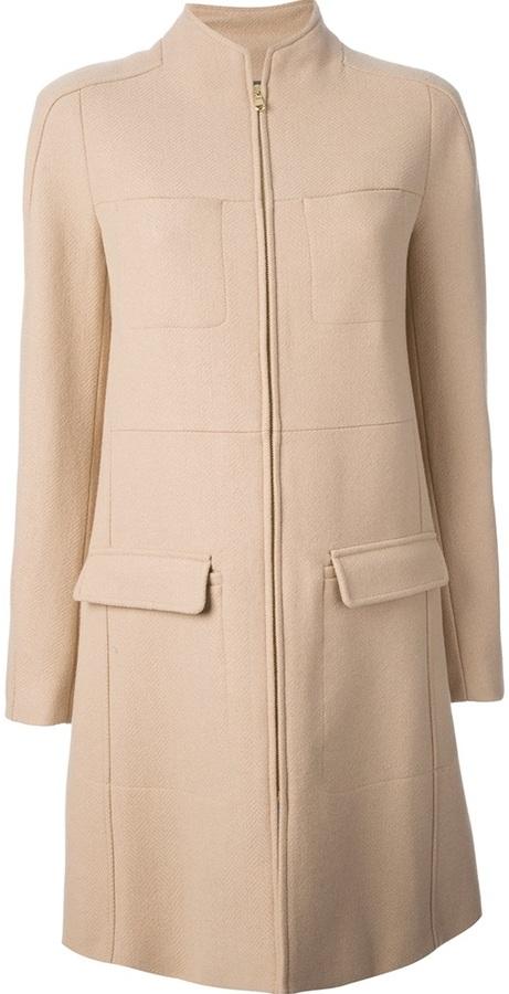 See by Chloe zip fastening coat