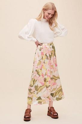 Selected Mola Midi Skirt