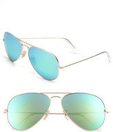 Ray-Ban Men's Original Aviator 58Mm Sunglasses - Gold/ Green Mirror