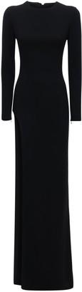 Mônot Crepe Long Dress