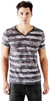 GUESS Guiterrez Short-Sleeve Striped Tee