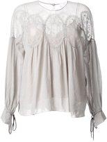 Chloé gypsy blouse - women - Cotton - 40