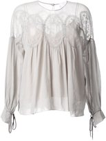 Chloé gypsy blouse - women - Cotton - 42