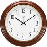 River City Clocks Radio-controlled Post Office Wall Clock with Finish - 16 Inch Diameter - Model # 801-401