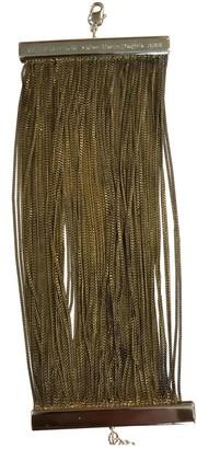 Maison Margiela Gold Metal Bracelets