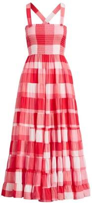 Polo Ralph Lauren Fye Gingham Maxi Dress