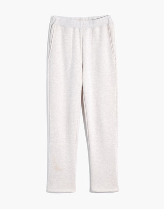 Madewell MWL Airyterry Stitched-Pocket Tapered Sweatpants