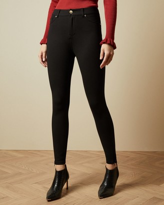 Ted Baker Stretch Zip Detail Jeans