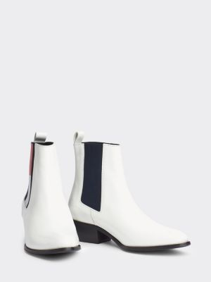Tommy Hilfiger Leather Cowboy Boots