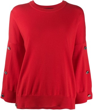 Boutique Moschino Long-Sleeve Knitted Jumper
