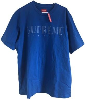 Supreme Blue Cotton Tops