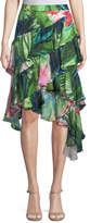 Josie Natori Sunset Palms Tiered Skirt