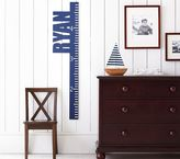 Pottery Barn Kids Cut Out Name Growth Chart