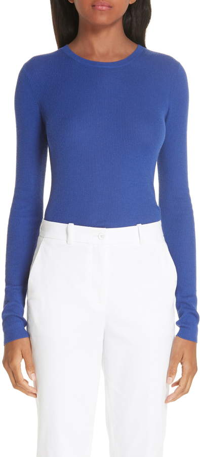 Michael Kors Ribbed Crewneck Sweater