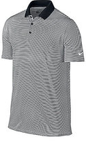 Nike Short-Sleeve Victory Mini-Horizontal-Stripe Polo Shirt