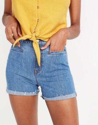 Madewell High-Rise Denim Shorts: Welt-Pocket Edition
