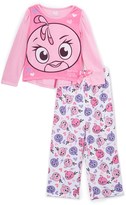 Komar Kids Pink & White Angry Birds Stella Pajama Set - Girls