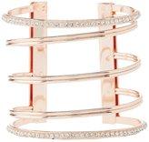 Charlotte Russe Plus Size Embellished Metal Cuff Bracelet