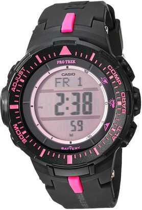 Casio PRO Trek Quartz Watch with Resin Strap
