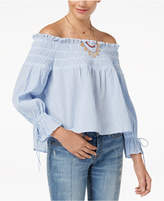 American Rag Juniors' Off-The-Shoulder Top, Created for Macy's