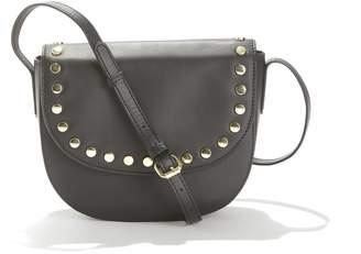 Pieces Bivana Leather Shoulder Bag