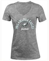 5th & Ocean Women's Philadelphia Eagles Checkdown LE T-Shirt