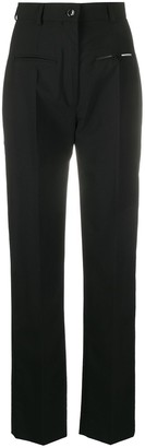 Seen Users High-Waisted Straight-Leg Trousers