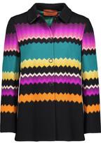 Missoni Intarsia-Knit Wool-Blend Jacket