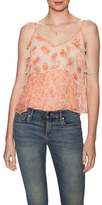 Free People All Things Print Tiered Top