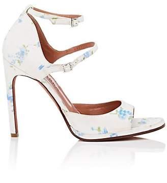 Altuzarra Women's Davidson Silk Sandals - White