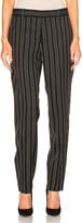 Alexander McQueen Stripe Wool Pant