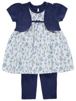 George Floral Dress and Leggings Set