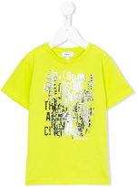 DKNY graphic print T-shirt - kids - Cotton/Spandex/Elastane - 12 yrs
