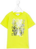 DKNY graphic print T-shirt - kids - Cotton/Spandex/Elastane - 6 yrs