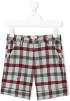 Il Gufo plaid tailored shorts