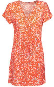 One Step RACHELE women's Dress in Orange