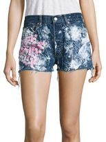 Vintage 501 Cherry Blossom Cut-Off Shorts