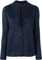 Woolrich blazer jacket - women - Linen/Flax - L