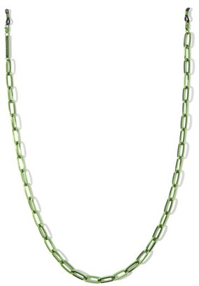 Frame Chain The Ron 18kt Gold-plated Glasses Chain - Green
