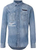 Diesel 'D-Broome' distressed shirt