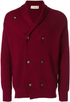 Maison Flaneur - shawl lapel double-breasted cardigan - men - Wool - 46